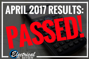 April 2017 PE Exam Results – Happy Students!