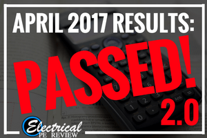 April 2017 PE Exam Results 2.0