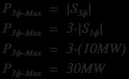 Delta transformer power example 1a