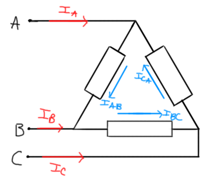 Square Root 3 and Three Phase Power - Where Does it Come From