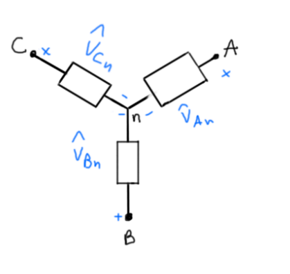 Square Root 3 and Three Phase Power - Where Does it Come