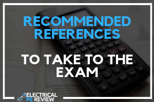 Featured Image Electrical PE Exam recommended references