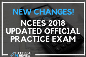 New NCEES 2018 practice sample exam electrical pe