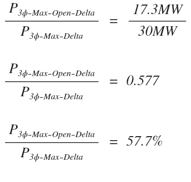 Open Delta Transformer Connection - Electrical PE Review